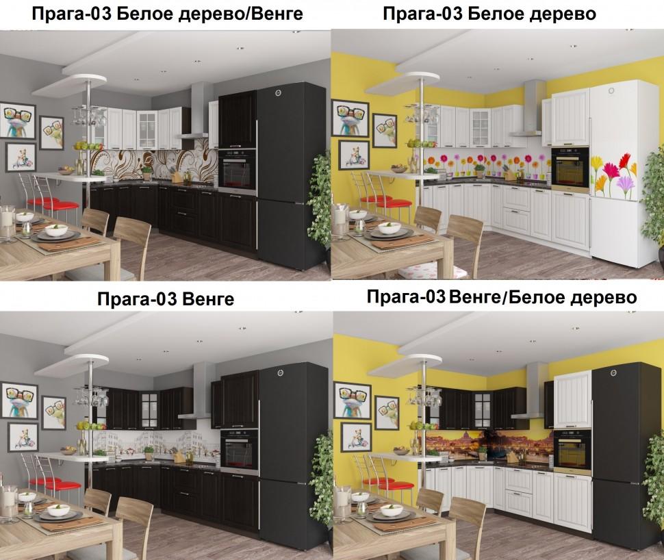 Прага-02 Венге Премиум/Белое дерево - Двери ELPORTA (ЭльПОРТА), KITCHEN  SAMANI (Кухни САМАНИ), VIVAT mebel (ВИВАТ мебель) | 818x970